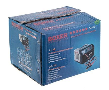 Prostownik do ładowania akumulatorów Boxer BX 8001 16A