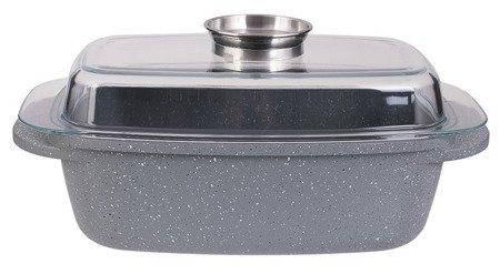 Brytfanna Edenberg EB 9190 gęsiarka garnek 4.5 L indukcja pokrywka