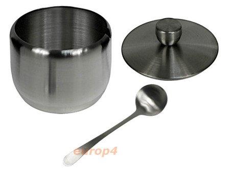Cukiernica Kinghoff KH 3723 pojemnik na cukier+łyżeczka metal