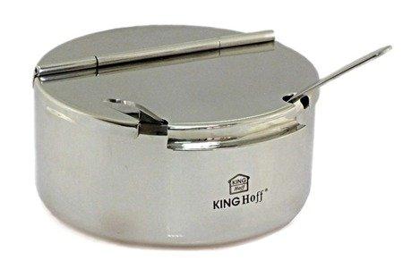 Cukiernica Kinghoff KH 3728 pojemnik na cukier +łyżeczka metal