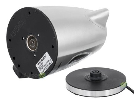 Czajnik elektryczny Tiross TS 1362 stalowy bezprzewodowy 1.0 L