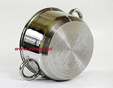 Garnek Edel Hoff Eh 8905 20 cm garnki do gotowania na parze