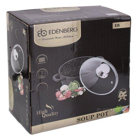 Garnek Edenberg EB 1653 MARMUROWY pojemność 4.5 L