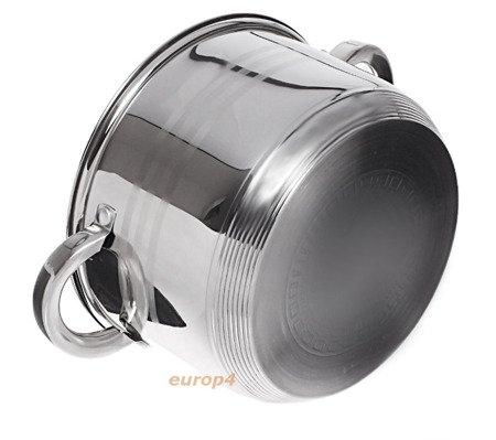 Garnki Edenberg EB 4013 Zestaw garnków stalowych indukcyjnych