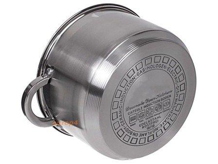Garnki Edenberg EB 4036 zestaw 6 garnków garnek gaz indukcja