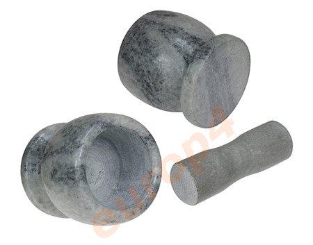Granitowy moździerz ELM36 / SB 362 kuchenny CIĘŻKI tłuczek