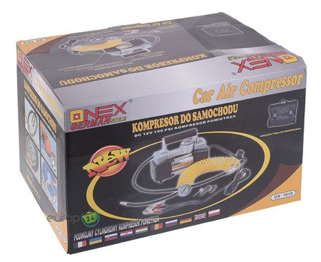 Kompresor Onex OX 1010 samochodowy Sprężarka 12v pompka