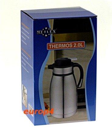 Konferencyjny termos Metlex MX 7420 2,5 litra catering dzbanek stalowy 7420