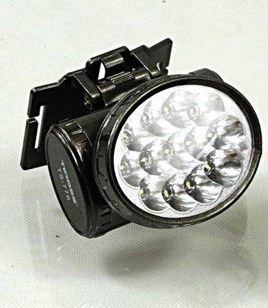 Latarka RB 2103 TS 776 - 13 LED czołowa Dioda akumulatorowa na głowę szara
