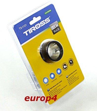 Latarka Tiross TS 1101 lampka CREE 5W czołowa czołówka na głowę