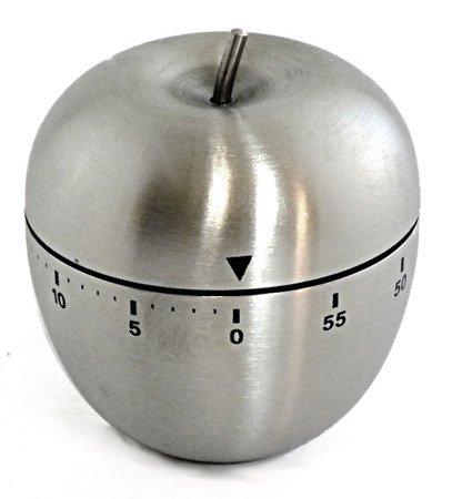 Minutnik HF 2213 60 min stalowy+magnes kuchenny zegar