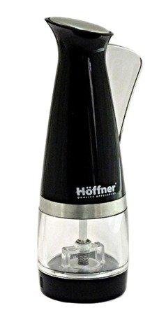 Młynek do pieprzu Hoffner HF 2330 soli młynki przypraw ręczny czarny