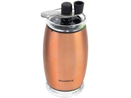 Młynek miedziany Klausberg KB 7340 ręczny do mielenia kawy ceramiczny rdzeń