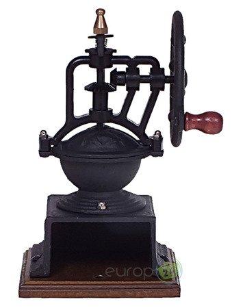 Młynek ręczny do mielenia KAWY KingHoff KH 1205 Tradycyjny czarny