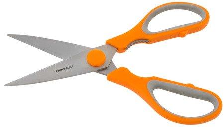 Nożyce Tiross TS 1601 nożyczki kuchenne do ziół warzyw pomarańczowe