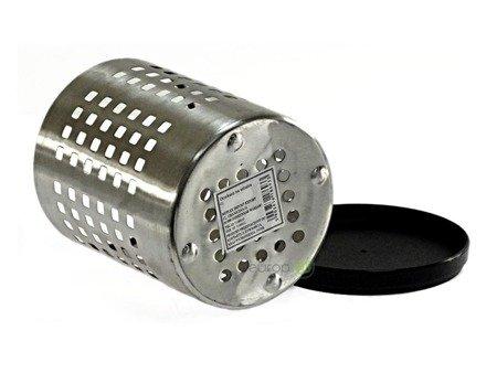 Ociekacz na sztućce METLEX MX 0777PX stalowy koszyk z podstawką