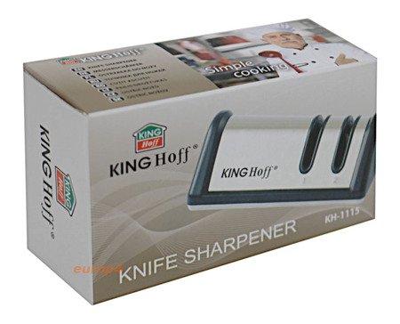 Ostrzałka do noży noża podwójna zestaw Osełka 1115