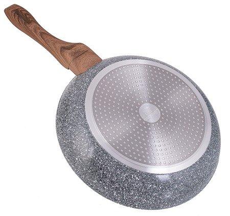 Patelnia KingHoff KH 1029 marmurowa indukcja granitowa 28 cm
