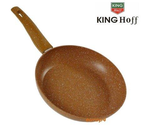 Patelnia KingHoff KH 3668 - 24 cm Powłoka marmurowa