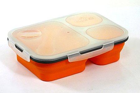 Pojemnik Tiross TS 1415 silikonowy na żywność kanapki zupę