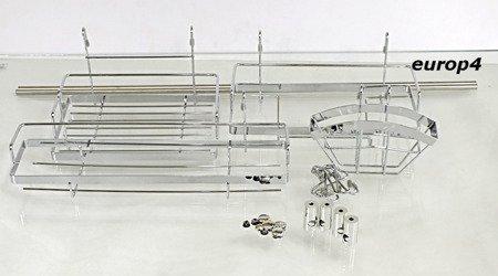 Reling Metlex MX 4543 kuchenny chromowany 16 elementów