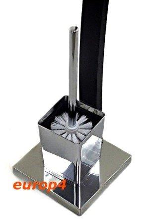 Szczotka Metlex MX 3017 stojak łazienkowa do wc drewniany kpl