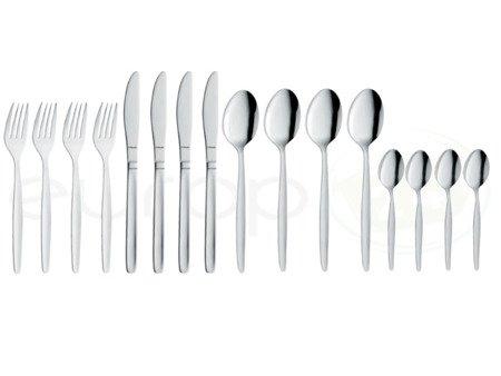 Sztućce Amefa Scandinave 2390 zestaw 16 sztuk komplet widelce łyżki noże łyżeczki dla 4 osób