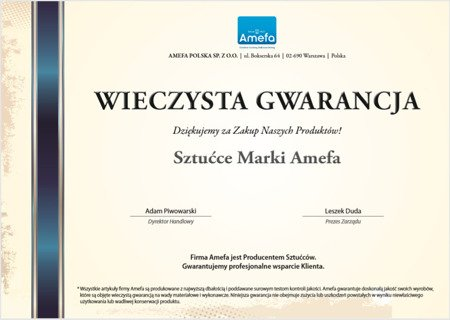 Sztućce do restauracji Bologna 1570 Amefa 4 szt/1 na wesela