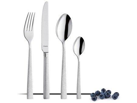 Sztućce obiadowe Amefa Jewel 8010 48 elementów dla 12 osób 18/10