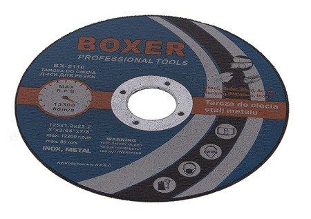 Tarcza do cięcia metalu BOXER BX 2110 125 x 22,2 x 1,2 Professional Tools