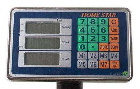 Waga SKLEPOWA MAGAZYNOWA Home Star HS 2003 elektroniczna 150 kg