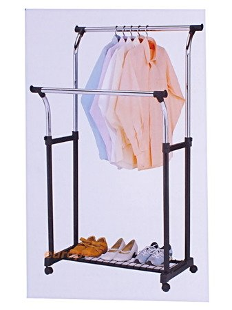 Wieszak stojak na kółkach Metlex MX 3042 ubrania garderoba