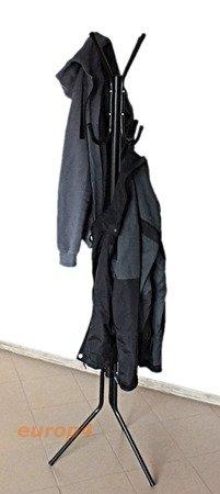 Wieszak stojak na ubrania Metlex MX 3079 parasol garderoba czarny