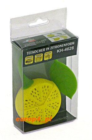 Zaparzacz do herbaty KingHoff ziół bez fusów sitko KH 4628