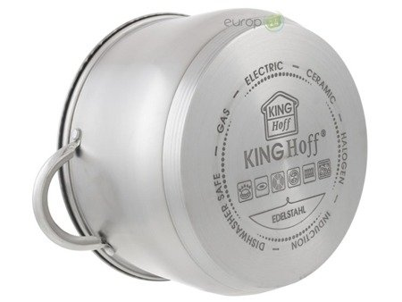 Zestaw garnków KingHoff KH 4450 garnki stalowe indukcyjne